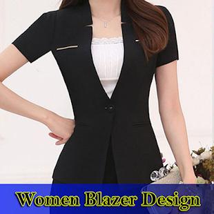 Women Blazer Design - náhled