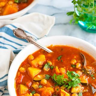 Moroccan Butternut Squash Stew