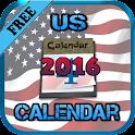 USA Calendar 2016 icon