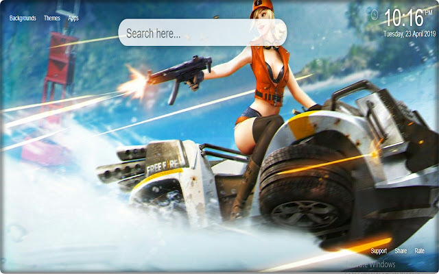 Garena Free Fire HD Wallpapers New Tab