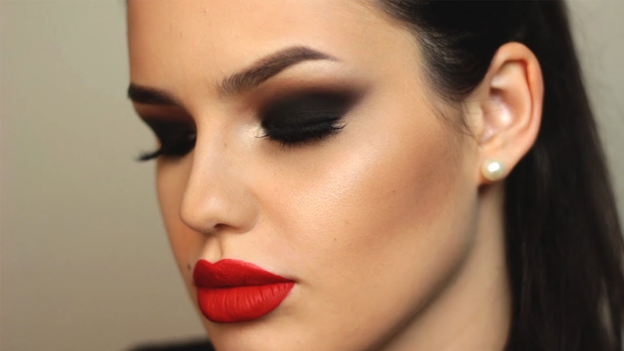 Can You Wear Red Lipstick With Dark Eye Makeup Lipstick Images And