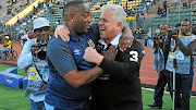 Cape Town City  boss John Comitis, right, has played down talk  that he and his coach  Benni McCarthy do not see eye to eye after a couple of failed signings.