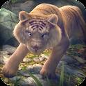 Juego de Tigres 3D para Niños icon