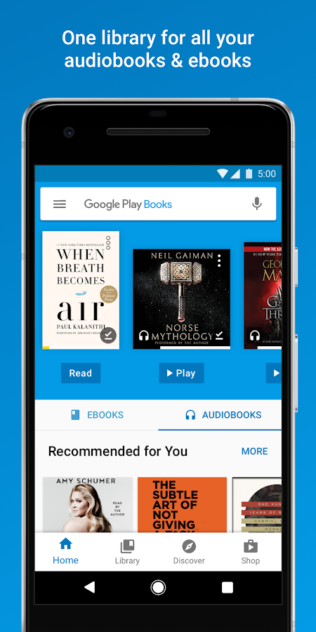 Google play books android apps on google play google play books screenshot fandeluxe Gallery