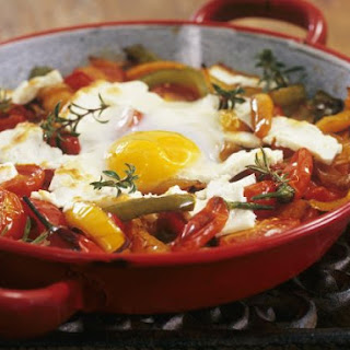 Paleo Peppers and Fried Eggs