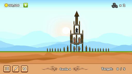 Télécharger Castle Down: Siege of the Catapult APK MOD (Astuce) screenshots 3