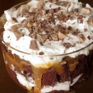 Better Than Anything Chocolate Trifle.