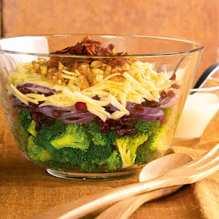 Layered Broccoli Salad.