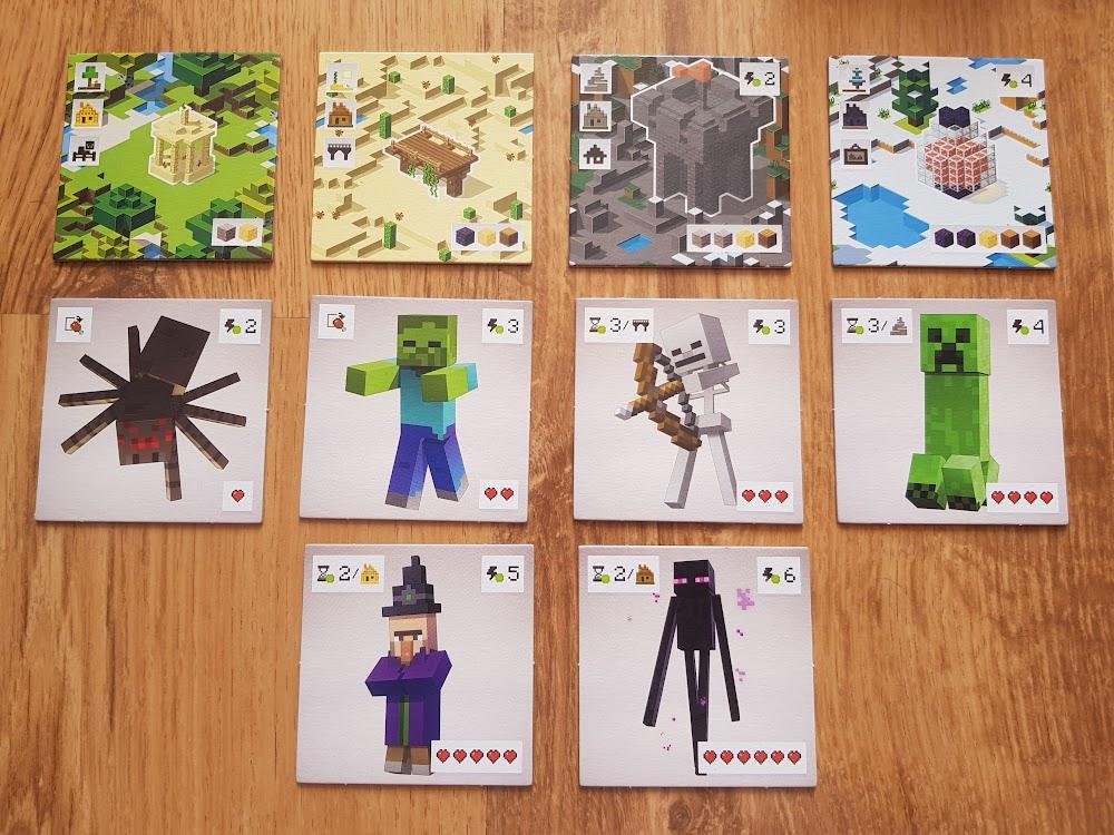Minecraft - dostępne kafelki