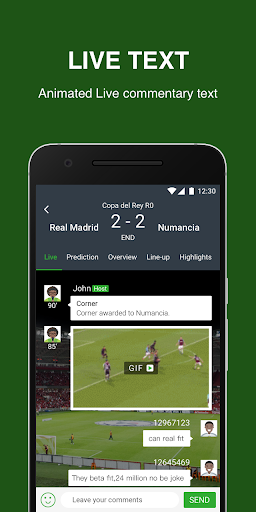 Soccerbook- Live Score, Soccer News, Videos for PC