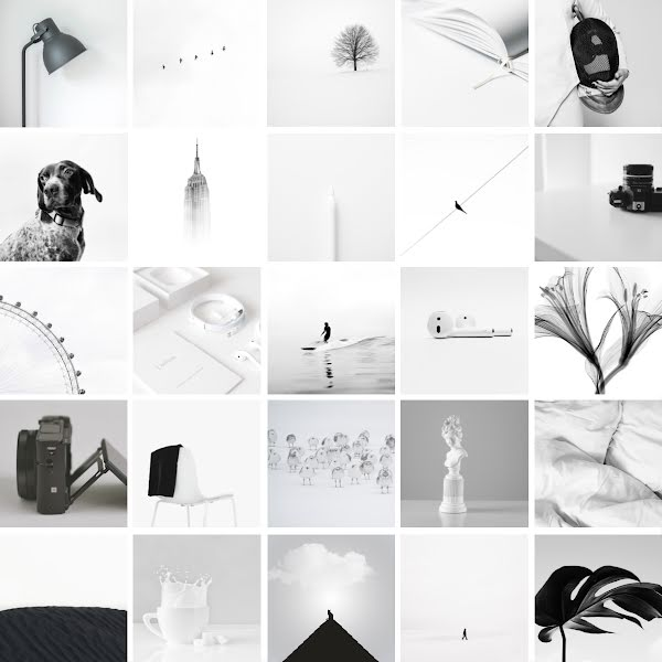 Monochromatic Collage - Instagram Post Template