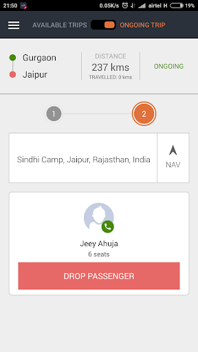 Goibibo Driver App for cabs  screenshots 3