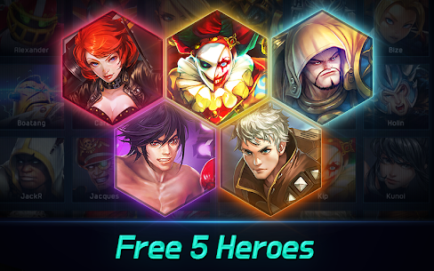 Iron League – Real-time Arena Teamfight 2