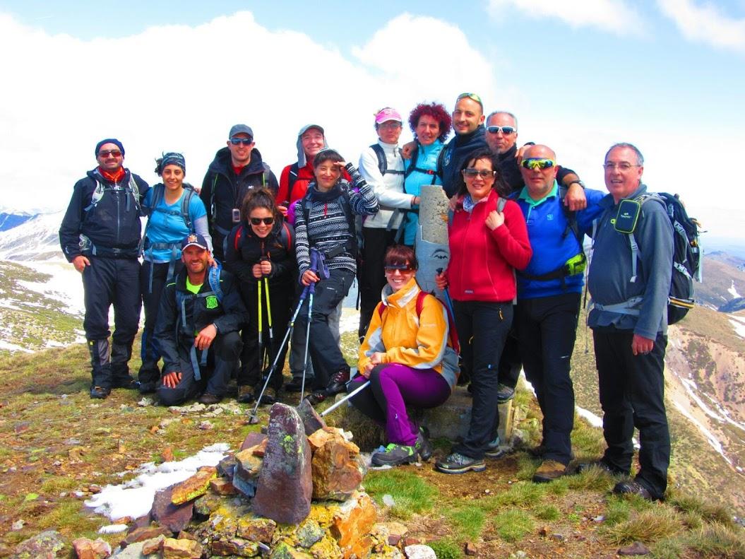 Grupo en la Cañada