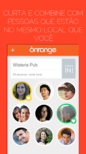 Onrange | Chat por locais! screenshot 1