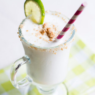 Key Lime Protein Shake.