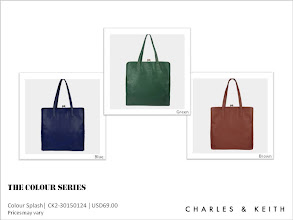 Photo: The second part of THE COLOUR SERIES is here! We have been told that its colour splash will accentuate any ensemble for a sunny and stylish countenance.  Which would be your top choice for a versatile carryall?