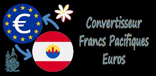 Convertisseur Francs Pacifiques Euros Apps On Google Play