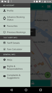 Abu Dhabi Taxi- screenshot thumbnail
