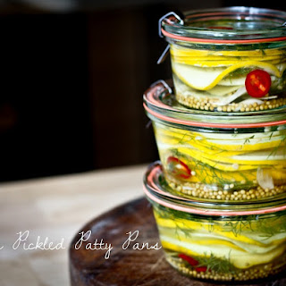 Jill's Pickled Summer Squash