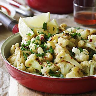 Cauliflower with Garlic, Chili and Anchovies.