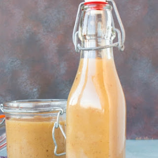 Sweet Ghost Pepper-Pineapple-Pear Hot Sauce.