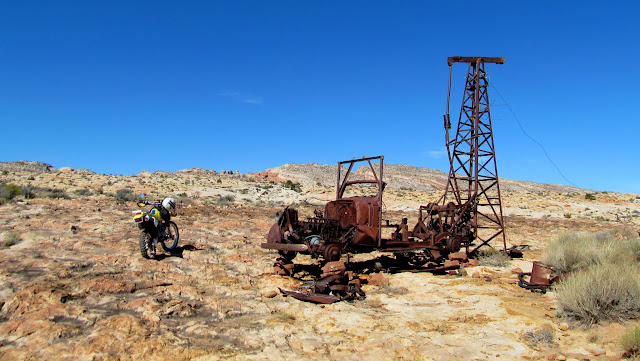 Old drilling rig