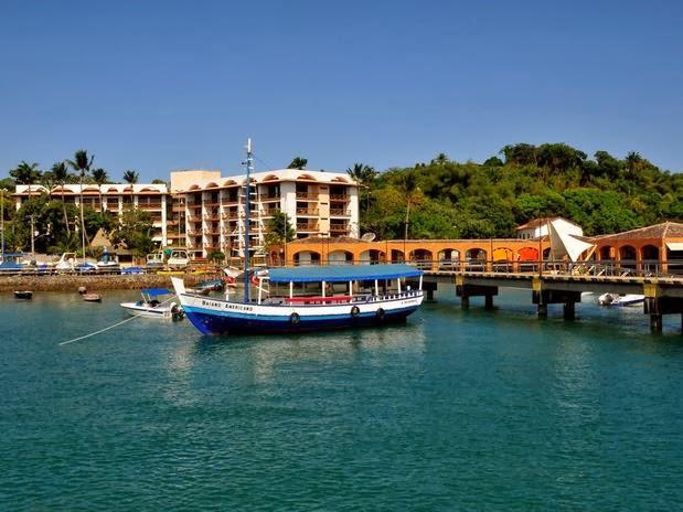 Photo: Flat loca.lizado em frente a marina de Itaparica