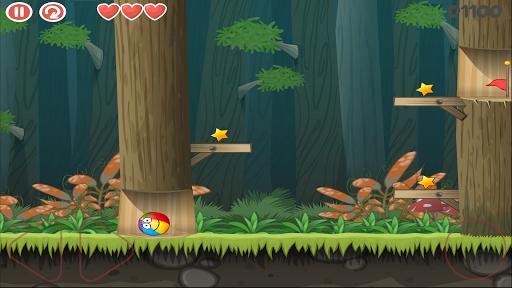 Red Jump Ball 4 Vol 2: Red ball Adventure 1.0.0 screenshots 1