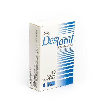 Desloratadina Deslorat 5Mg 10Tabletas Oftalmi Oftalmi