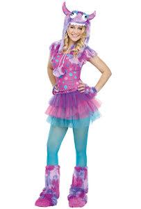 Teen, Rosa monsterklänning