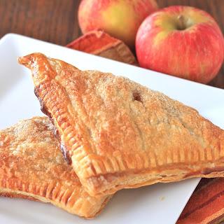 Cinnamon Sugar Apple Turnovers.