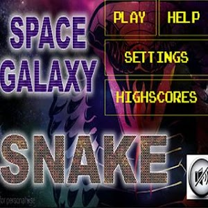 space galaxy snake screenshot 1