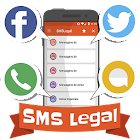 SMSLegal ready messages. icon