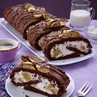 Chocolate Banana Jelly Roll.
