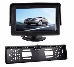 Suport numar auto camera video marsarier + Display LCD TFT 4.3