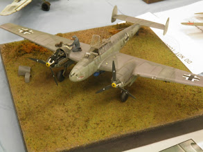 Photo: Another nice display, this time in 1/48th.