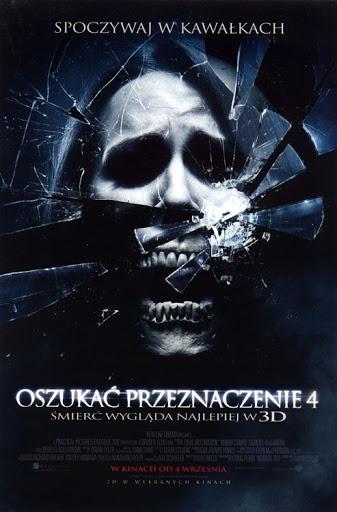 Polski plakat filmu 'Oszukać Przeznaczenie 4'