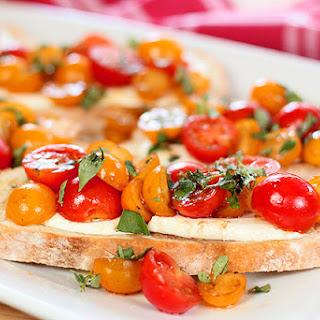Mozzarella Bruschetta.