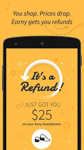 Download Earny: Earn Cash Back & Refunds Shopping Online MOD APK 1
