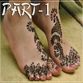 Legs Mehndi Design 2015 NEW