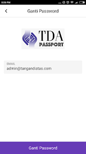 TDA Passport- screenshot thumbnail