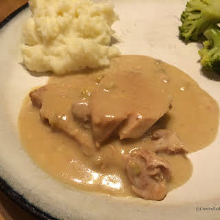 Pre Thanksgiving Meal- Crock Pot Pork Chops.