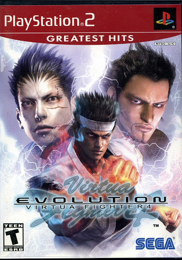 Video game:Sony PlayStation 2 Greatest Hits Virtua Fighter 4: Evolution