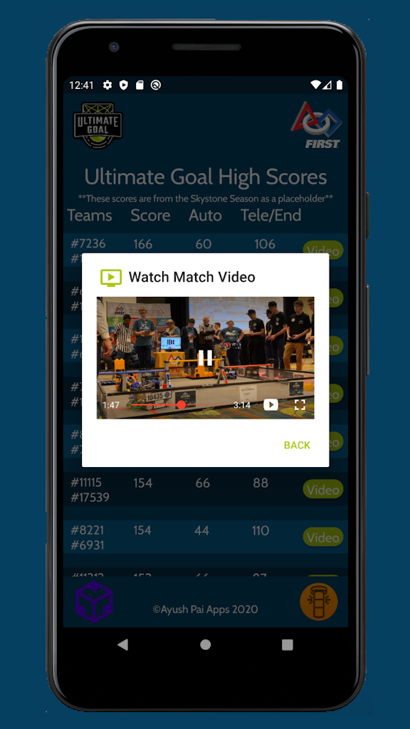 First Tech Challenge Ultimate Goal Latest Version Apk Download Com Ayush Firstultimategoal Apk Free