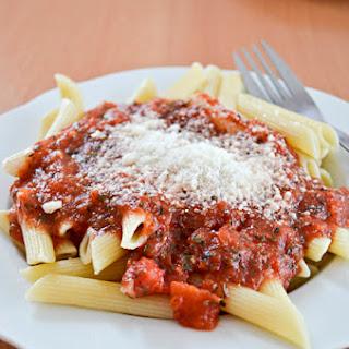 Quick & Easy Tomato Basil Marinara Sauce