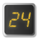 24 Clock Widget icon