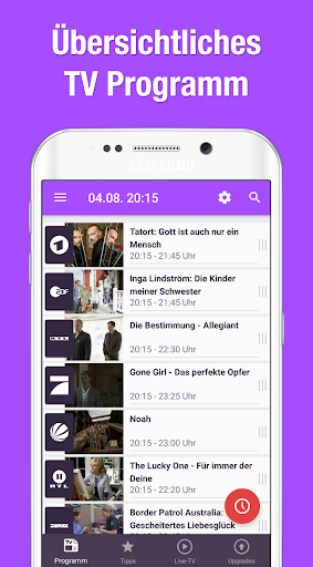 tv.de tv programm app screenshot 1