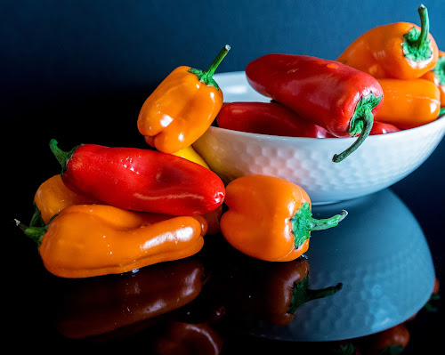 Mini Peppers by Antonio Winston - Food & Drink Fruits & Vegetables