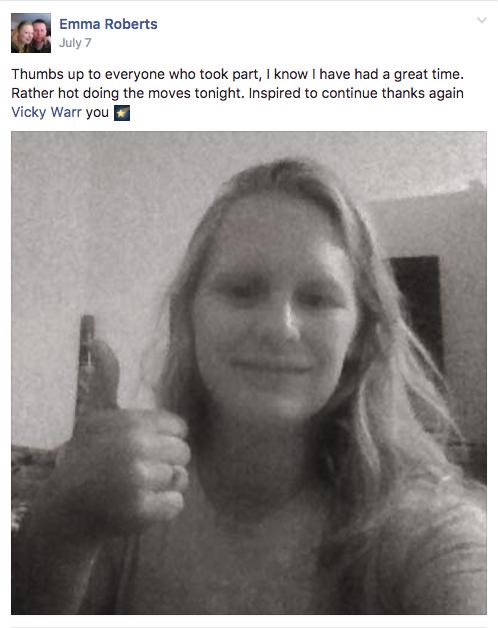Emma Roberts Testimonial